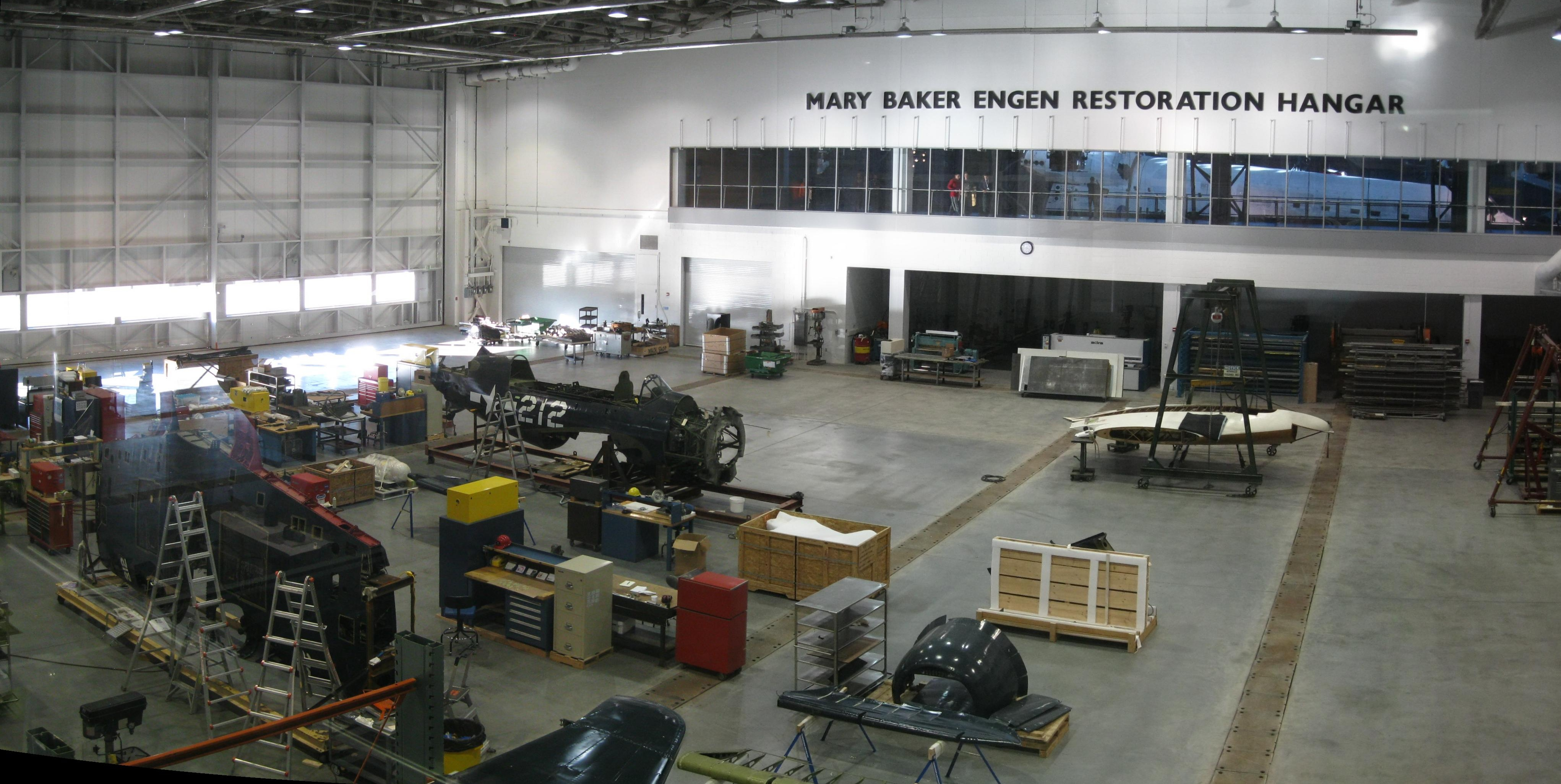 Education - Engen_Restoration_Hangar_at_Uvar-Hazy